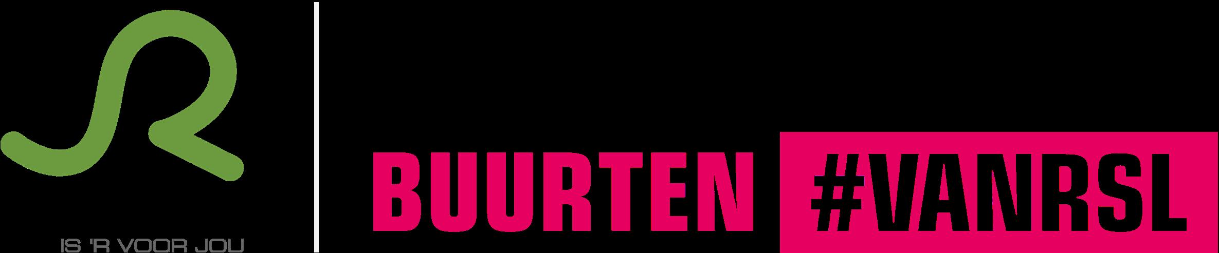 Logo Buurten #VANRSL